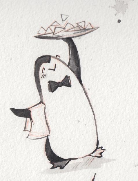 PenguinWaiter.TrayRaised